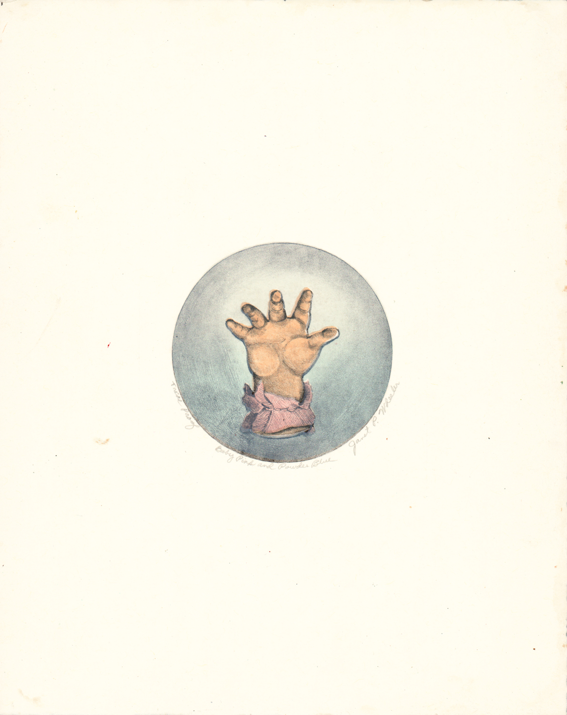 Baby Pink & Powder Blue - Litho Serigraph - Image 3