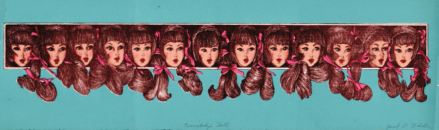 Everybody's Doll - Litho Serigraph - 5