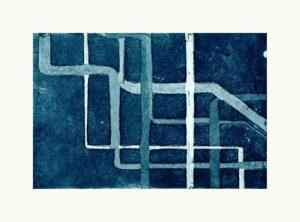 NYC Subway Blue II