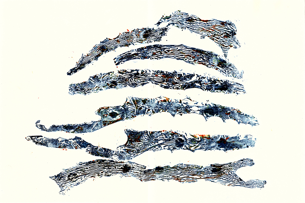 Queenscliff Collagraph 71